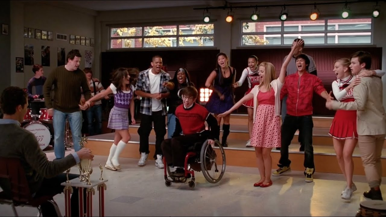 glee without you youtube