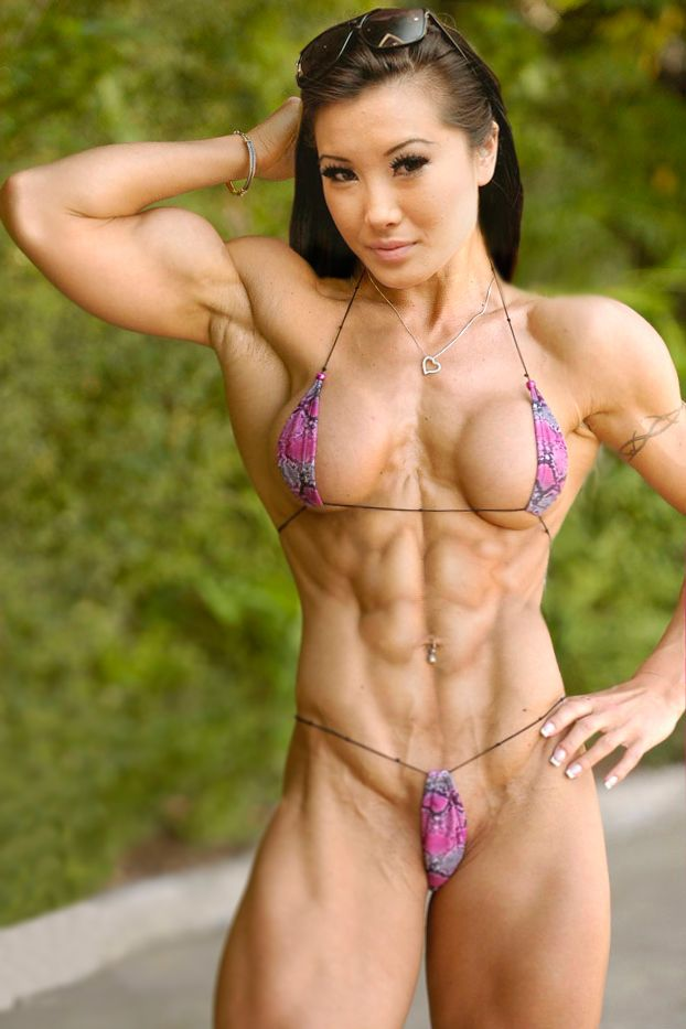 female muscle rica nude picture