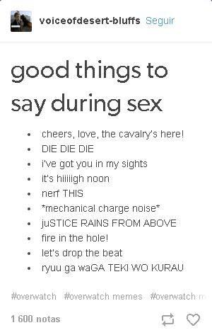 things to say during sex