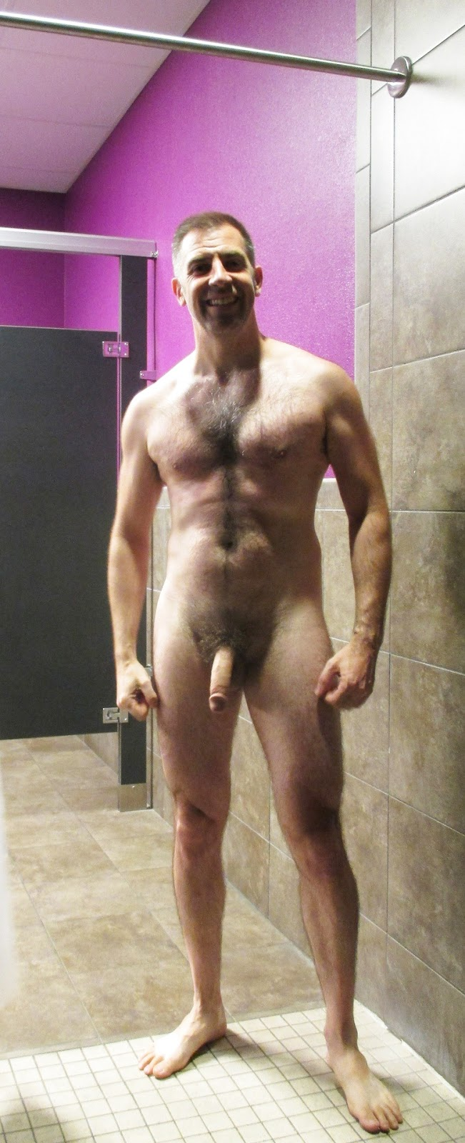 guys showing off naked