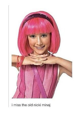 lazy town girl is a virgin